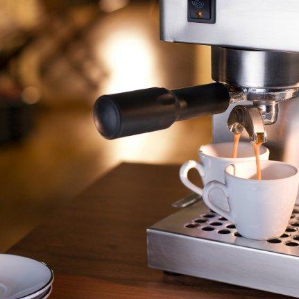 Процесс приготовления кофе