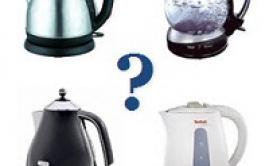 Электрический чайник. Советы по выбору чайника.