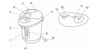 Термопот - схема прибора