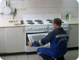 Ремонт индукционной варочной панели горение